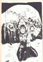 Loki: Agent of Asgard #11? p.? - Loki, Sif, the Warriors Three, and More Splash - 2015 Comic Art