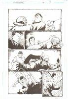 Midnighter - Issue 17 Pg 6 - Signed by Rick Burchett Comic Art