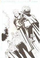 Midnighter - Issue 19 Pg 19 - Full Splash - Signed by Rick Burchett Comic Art