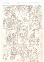 Rokkin #1 p.13 - Slaying a Wild Beast - 2006 Signed Comic Art
