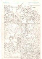 Rokkin #2 p.17 - Arrow in a Dead Bird - 2006 Signed Comic Art