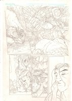 Rokkin #2 p.18 - Warrior in the Swamp - 2006 Signed Comic Art