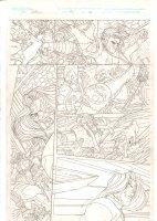 Rokkin #2 p.21 - Brawl and Beheading - 2006 Signed Comic Art