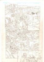 Rokkin #3 p.10 - People Slaughtered Recap - 2006 Signed Comic Art
