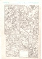 Rokkin #1 p.9 - Hutning in the Forest - 2006 Signed Comic Art