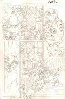 Danger Girl BS - Issue 4 Pg 3 - Pencil Art Comic Art