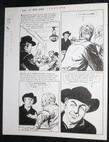 Sons of Katie Elder #1 F1 p.16 - Dell - John Wayne Story - Bud and Tom Elder Enter Saloon - 1965 Comic Art