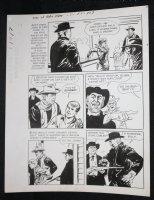 Sons of Katie Elder #1 F1 p.17 - Dell - John Wayne in Saloon - 1965 Comic Art