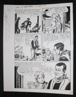 Sons of Katie Elder #1 F2 p.15 - Dell - John Wayne Gives Bible - 1965 Comic Art