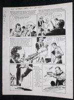 Sons of Katie Elder #1 F2 p.31 - Dell - John Wayne - Hastings Shoots His Own Son - 1965 Comic Art