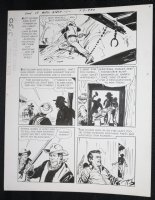 Sons of Katie Elder #1 F3 p.30 - Dell - John Wayne - Shootout - 1965 Comic Art