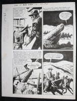 Sons of Katie Elder #1 F5 p.21 - Dell - John Wayne Story - Group Tracking- 1965 Comic Art
