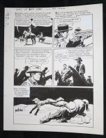 Sons of Katie Elder #1 F6 p.22 - Dell - John Wayne Story - Thrown from Horse - 1965 Comic Art