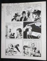 Sons of Katie Elder #1 F8 p.25 - Dell - John Wayne Story - Kicks Knife Away - 1965 Comic Art