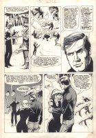 The Six Million Dollar Man Magazine #2 p.35 - 1976 Comic Art
