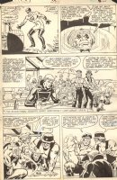 Ghost Rider #59 p.10 - Johnny Blaze Gets Bullied by Outlaw Bikers - 1981 Comic Art