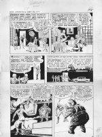 Unearthly Spectaculars #2 p.17 LA Jack Frost & Villain (1966) Comic Art