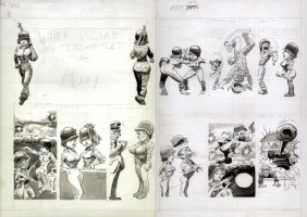 Humour Mag DPS Gag Women in the Army w/ Stat LA Comic Art