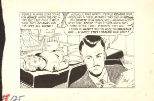 Mad Magazine #125? - A Mad Look at Psychiatry - 1960's Signed Comic Art