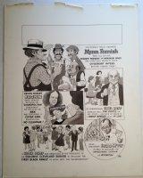 MAD Magazine - LA  - 1970's Signed Comic Art