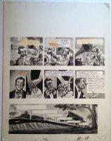 MAD Magazine #? p.10 - LA B&W Painted Art - 1950's Comic Art