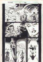Wolverine: Knight of Terra #1 p.26 - Medieval - 1995 Signed Comic Art