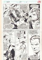 Incredible Hulk #399 p.19 - Reed Richards - 1992 Signed Comic Art