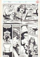Incredible Hulk #399 p.19 - Doctor Strange and Rick Jones - 1992 Signed Comic Art