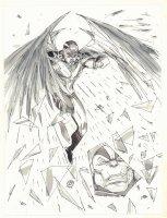 Archangel vs. Apocalypse - 2009 Comic Art