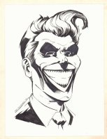 The Joker Portrait Commission - 2015 Signed Comic Art