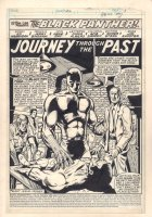 Marvel Premiere #52 p.1 - 'Journey Through the Past' Title Splash - Black Panther - 1980