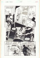 Green Arrow #84 p.20 - Action vs. Thugs - 1994 Comic Art