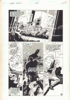 Green Arrow #84 p.22 - Green Arrow in Gunfight vs. Thugs - 1994 Comic Art