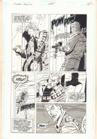 Green Arrow #84 p.23 - Green Arrow Getting Shot At - 1994 Comic Art
