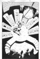 Batman Annual p.33 100% Splash - signed Comic Art