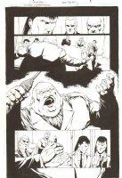 Gotham Underground #2 p.8 - Tobias Whale - 2008 Comic Art