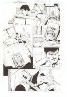 Gotham Underground #6 p.6 - Great White Shark (Villain) - 2008 Comic Art