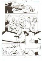 Gotham Underground #7 p.20 - Tobias Whale & the Penguin - 2008 Comic Art