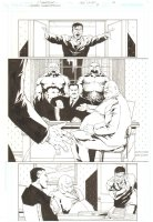 Gotham Underground #9 p.16 - Tobias Whale & Gangsters - 2008 Comic Art
