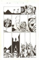 Marvel Universe: The End #3 p.12 - Dr. Doom - 2003 Comic Art