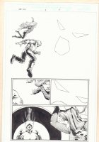 Marvel Universe: The End #1 p.17 - Akhenaten - 2003  Comic Art