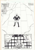 Marvel Universe: The End #1 p.31 - Akhenaten Splash and Nick Fury - 2003  Comic Art