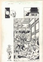 Infinity Abyss #1 p.10  -Skrulls Splash - Self Portrait - 2002 Comic Art