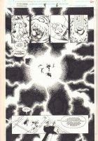 Silver Surfer / Warlock: Resurrection #4 p.6 - Surfer, Drax the Destroyer, and Moondragon - 1993  Comic Art