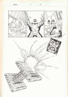 Thanos #4 p.19 - Explosion Splash - 2004 Comic Art