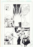 Death of the New Gods #? p.24 - Death of Big Barda - Superman, Orion, & Mister Miracle - Jack Kirby's 4th World - 2008 Comic Art