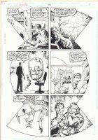 Green Lantern #95 p.5 - Comic Book Artist in Giant Lantern Design Montage - 1998 Comic Art