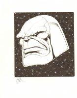 Darkseid Commission - Signed Comic Art