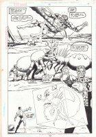 Green Lantern #95 p.14 - Green Lantern Imprisons Giant Bug - 1998 Comic Art