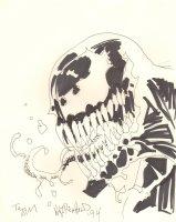Venom Commission - 1994 Signed Comic Art